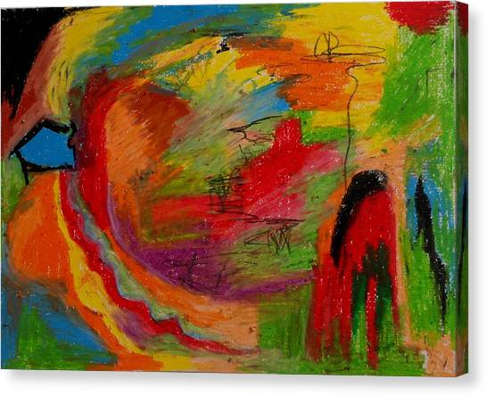 Abstract No. 3 Inner Landscape Canvas Print