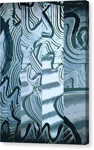 Abstract No. 57-1 Canvas Print