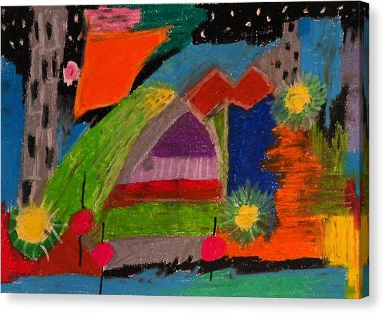 Abstract No. 7 Inner Landscape Canvas Print