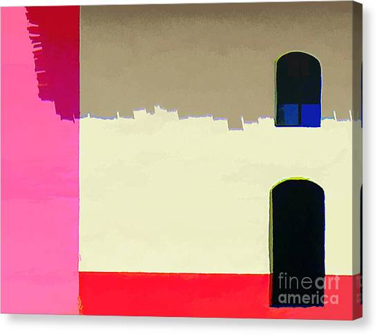 Abstract No. Twenty Five Canvas Print by Tom Griffithe