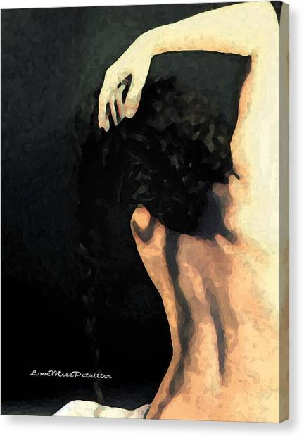 Abstract Nude Art 1 Canvas Print
