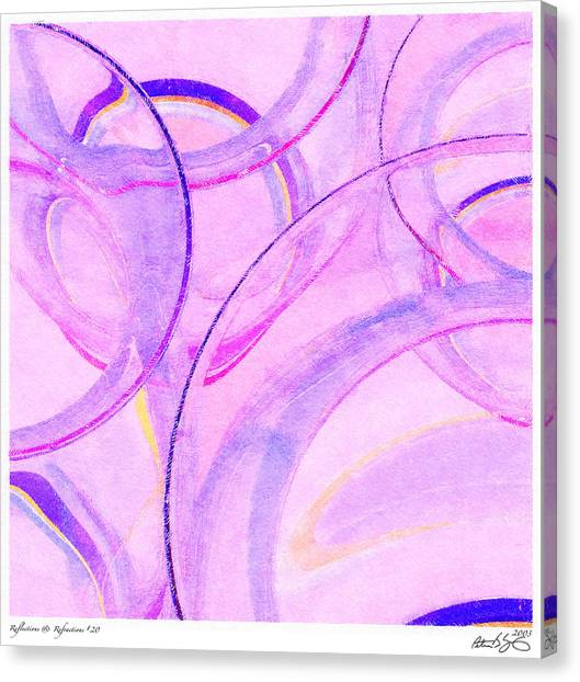 Abstract Number 20 Canvas Print