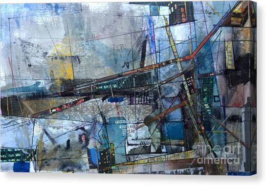 Abstract Nyc #2 Canvas Print