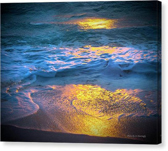 Abstract Of Beach Canvas Print