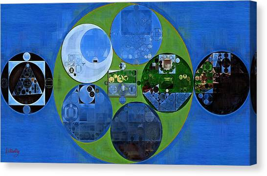 Fanciful Canvas Print - Abstract Painting - Everglade by Vitaliy Gladkiy