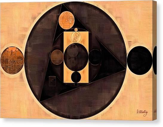 Moroccon Canvas Print - Abstract Painting - Morocco Brown by Vitaliy Gladkiy