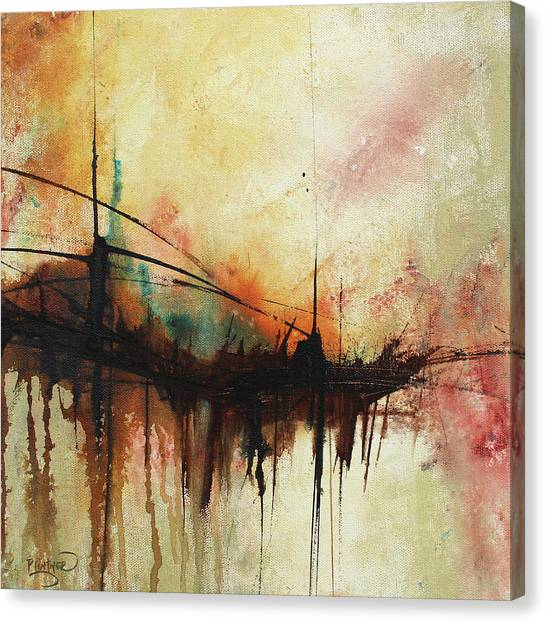 Abstract Painting Contemporary Art Canvas Print