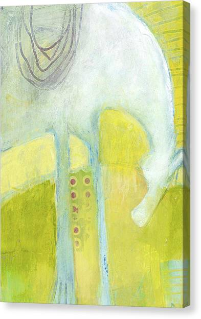 Abstract Pony No 7 Canvas Print