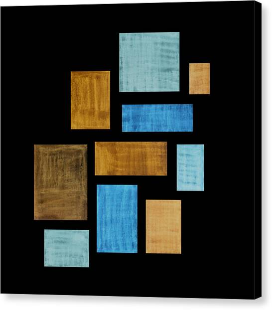 Rectangles Canvas Print - Abstract Rectangles by Frank Tschakert