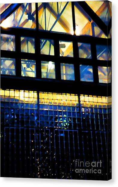 Abstract Reflections Digital Art #5 Canvas Print