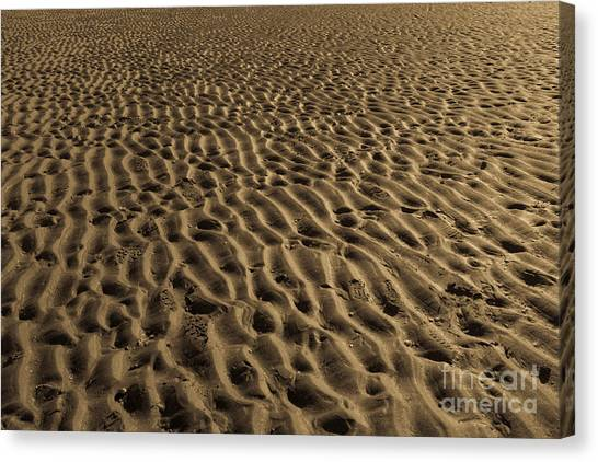 Abstract Sand Canvas Print