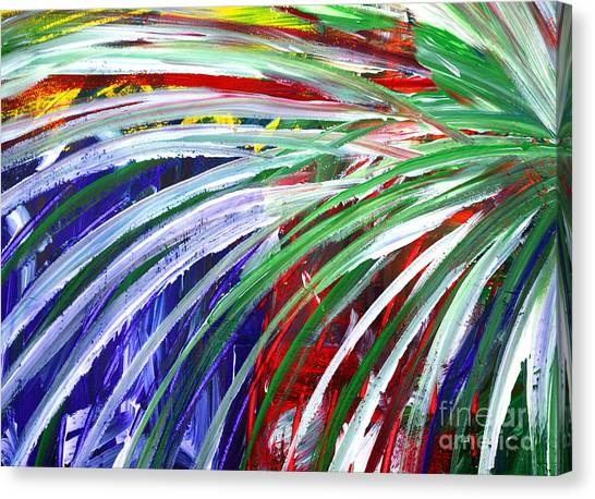 Abstract Series C1015bl Canvas Print