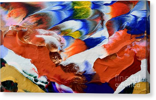 Abstract Series N1015al  Canvas Print
