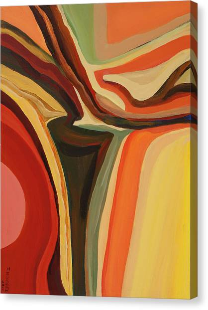 Abstract Vase Canvas Print