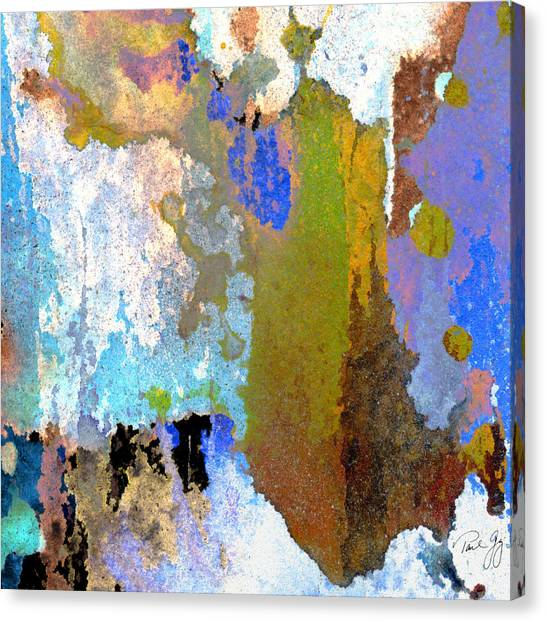 Abstract Wash 1 Canvas Print