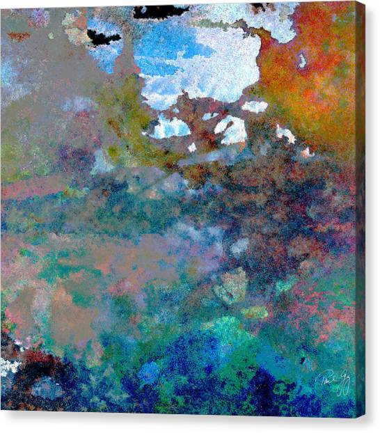 Abstract Wash 6 Canvas Print