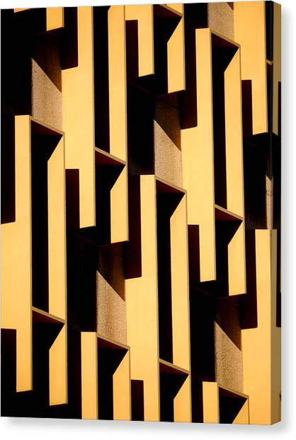 State Building Abstract Canvas Print