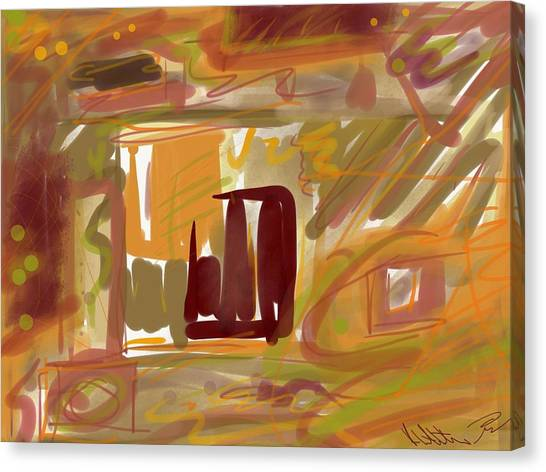 Abstraction Collect 1 Canvas Print