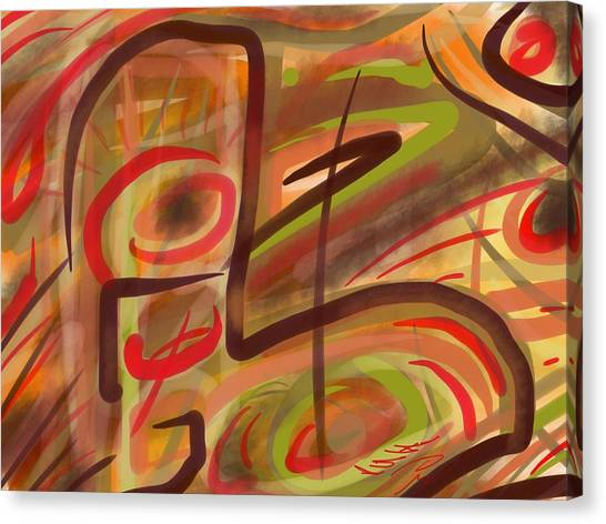 Abstraction Collect 2 Canvas Print