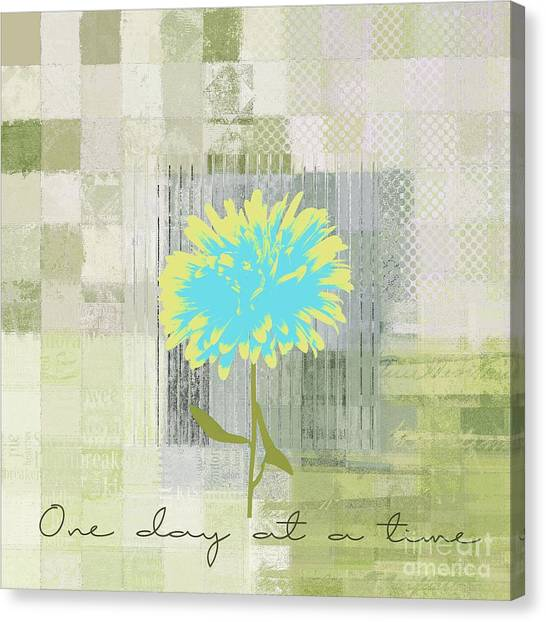 Flower Canvas Print - Abstractionnel - 29grfl3c-gr3 by Variance Collections