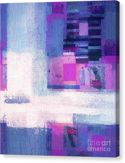 Rectangles Canvas Print - Abstractitude - 1a22c5vi by Variance Collections