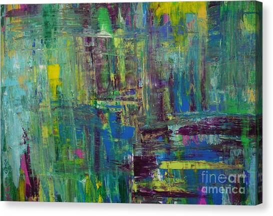 Abstract_untitled Canvas Print