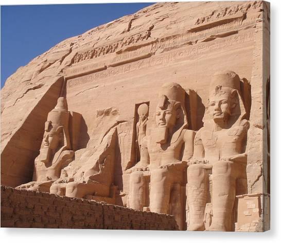 Abu Simbel Canvas Print