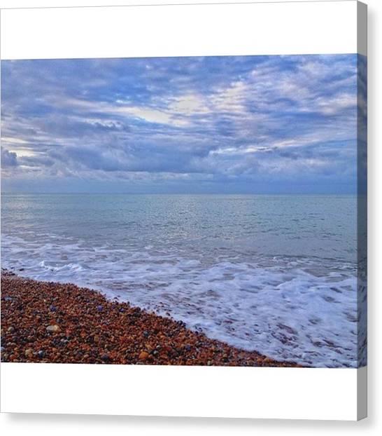 Sunrise Horizon Canvas Print - •abundance Of by Tai Lacroix