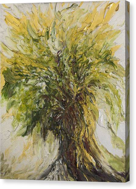 Abundance Tree Canvas Print