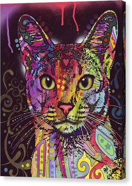 Abyssinian Canvas Print by Dean Russo Art