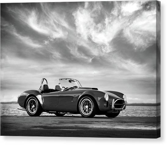 Cobras Canvas Print - Ac Shelby Cobra by Mark Rogan