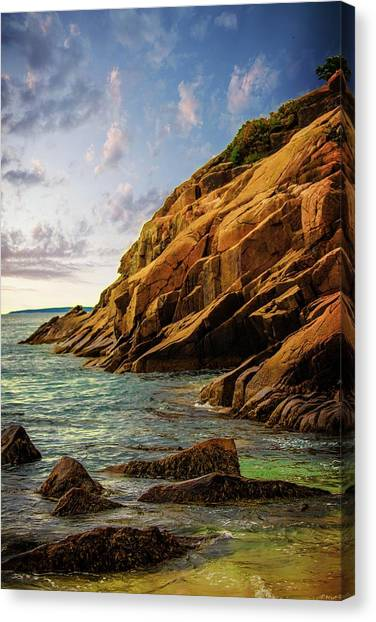 Acadia National Park--maine Canvas Print