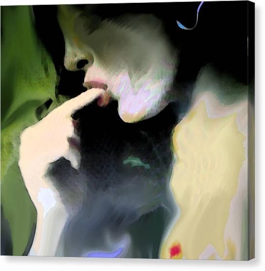 Accidental Glance Canvas Print by Noredin Morgan