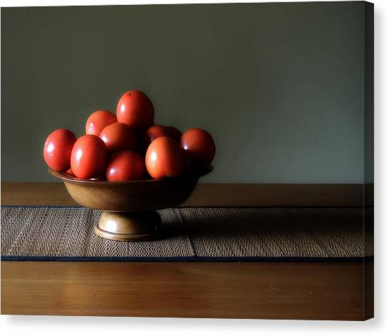 Accidental Still Life. Canvas Print