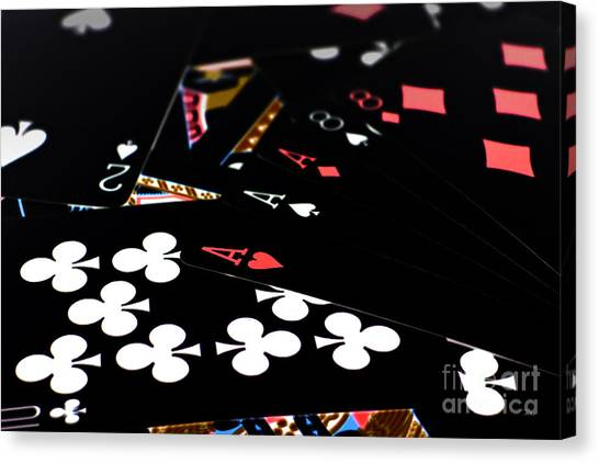 Aces And Eights Canvas Print