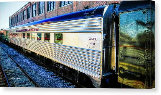 Moultrie Dining Car Canvas Print