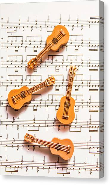 Concerts Canvas Print - Acoustic Quartet by Jorgo Photography - Wall Art Gallery