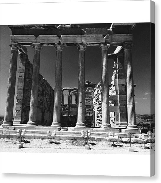 The Acropolis Canvas Print - Acropolis|athens,greece #lovetheworld by Clarens Clarens