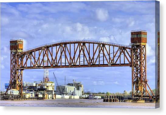 Atchafalaya Basin Canvas Print - Across The Atchafalaya by JC Findley
