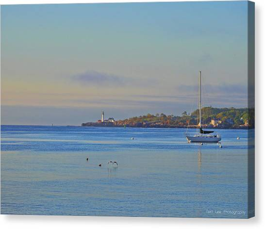 Across The Bay Canvas Print