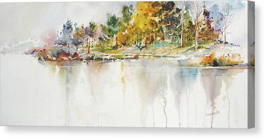 Across The Pond Canvas Print