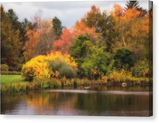 Ohio Canvas Print - Across The Pond by Tom Mc Nemar