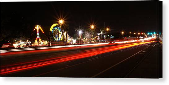 Across The Street Canvas Print by Chauncy Holmes