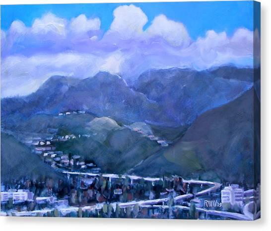 Across The Verdugo Hills Canvas Print