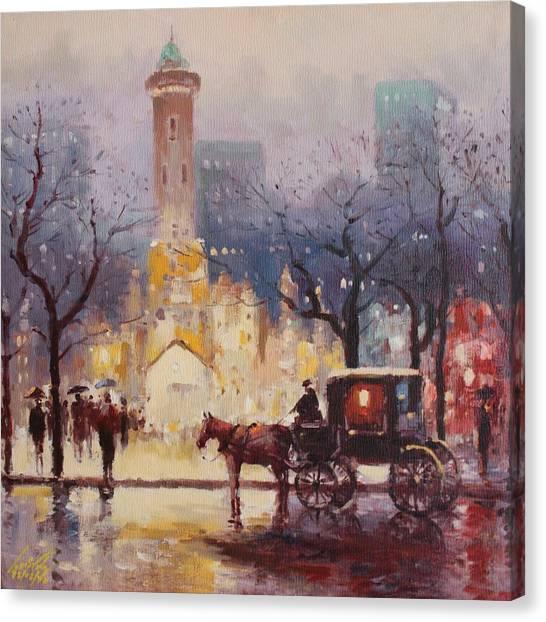 Acrylic Msc 054 Canvas Print