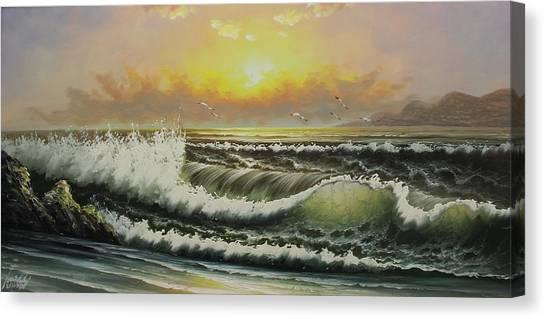 Acrylic Msc 148 Canvas Print