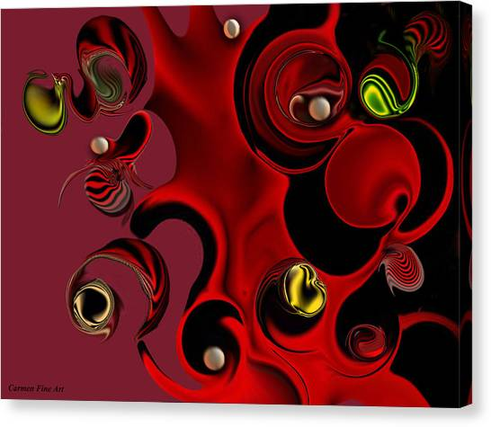Act With Manufactured Energy Canvas Print