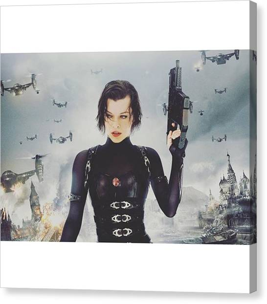 Canvas Print - Actually Thinking About Leaving by Resident Evil