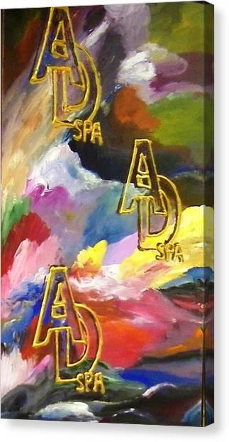 Ad Spa Canvas Print