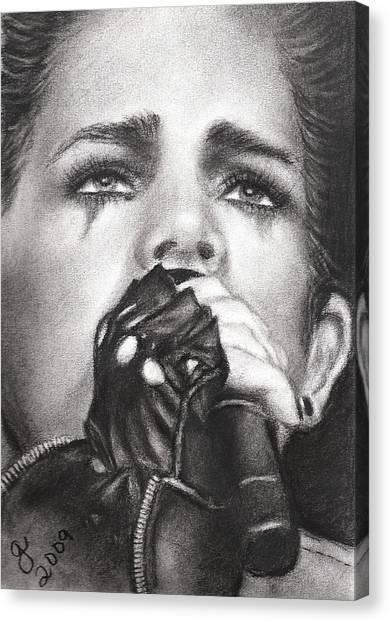 Adam Lambert Canvas Print by Grace Rose